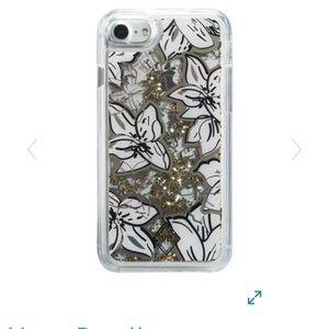 NWOT Vera Bradley glitter flurry iPhone 7/8 case